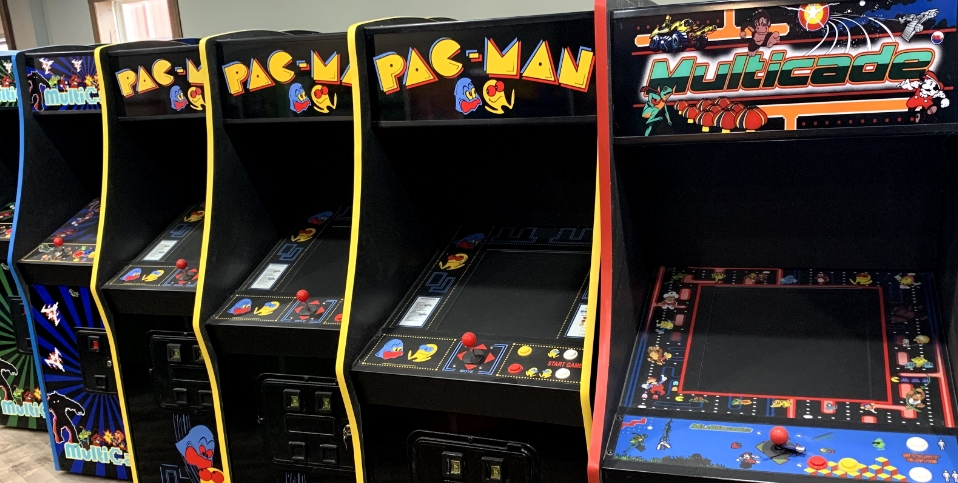 Bentzel Amusements in Hanover PA 17331 for video games, arcade machines, tabletop arcades, vending machines, coin operated machines, console systems